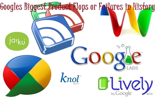 Googles Biggest Product Failures