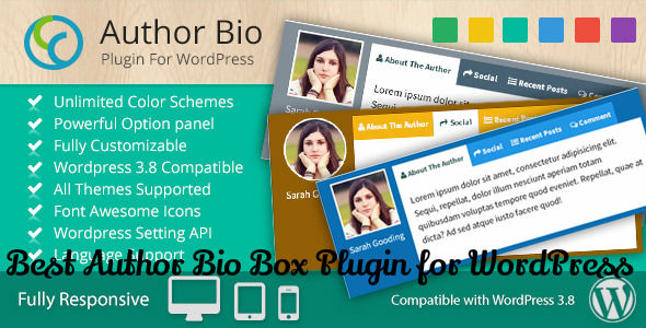 Author Bio Plugin WordPress