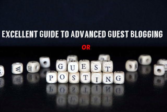 Guest Blogging or Posting Guide