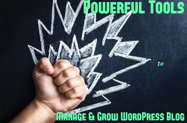 Tools to Manage WordPress