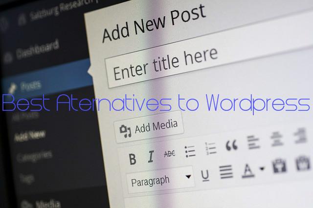 Wordpress CMS Alternatives Competitors