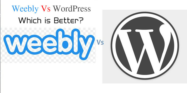WordPresss Vs Weebly