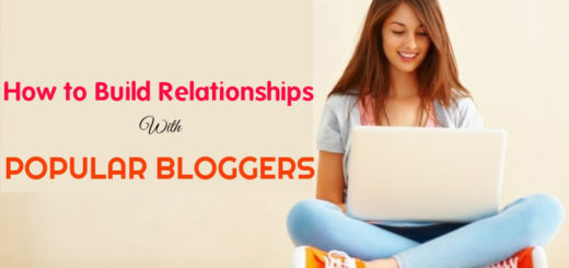 How Build Relationships with Bloggers