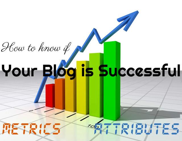 Successful Blog Metrics Attributes