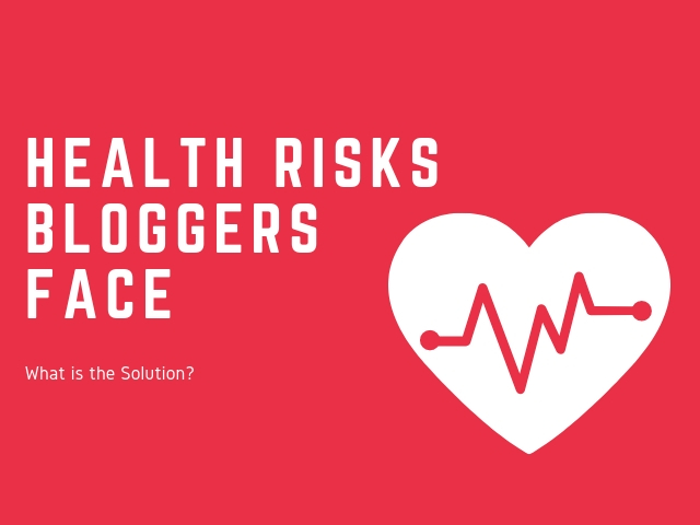 Health Risks Bloggers Face