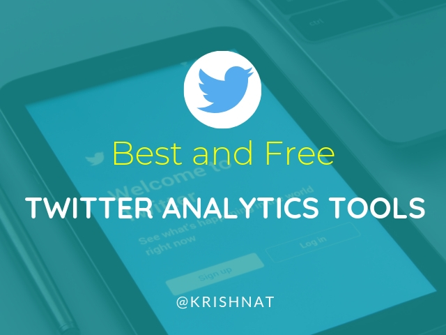 Twitter Analytics Tools