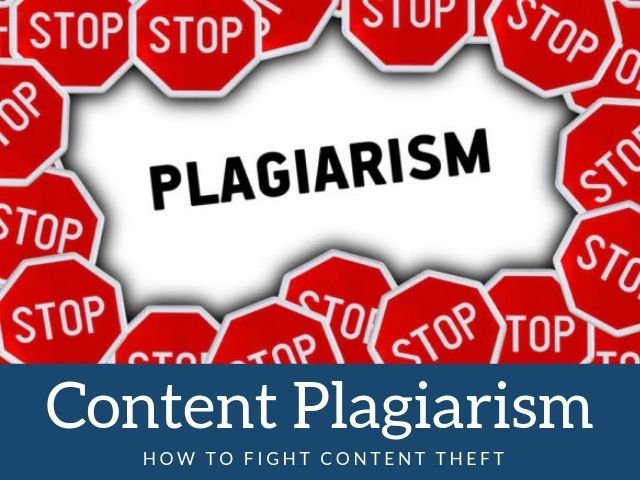 Content Plagiarism or Theft