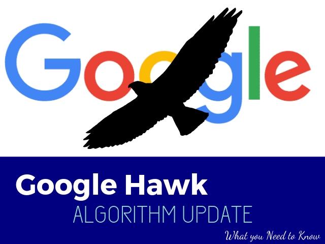 Google Hawk Algorithm Update