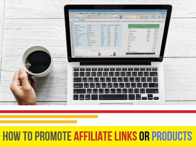Promote Affiliate Links