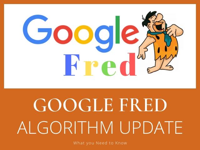Google Fred Algorithm Update