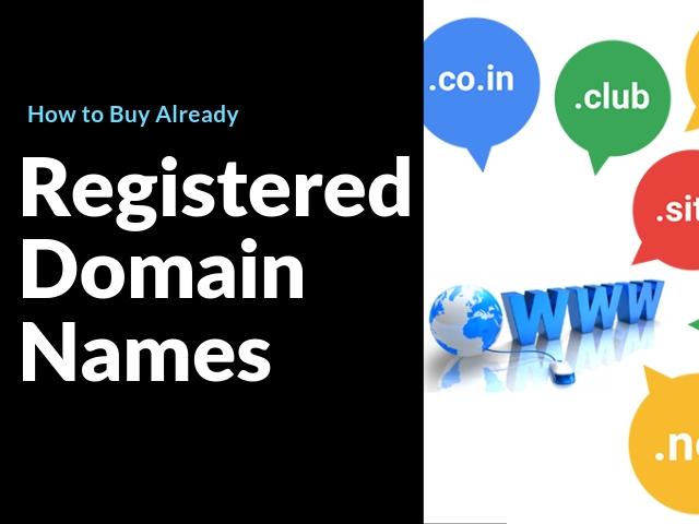 Registered Domain Names
