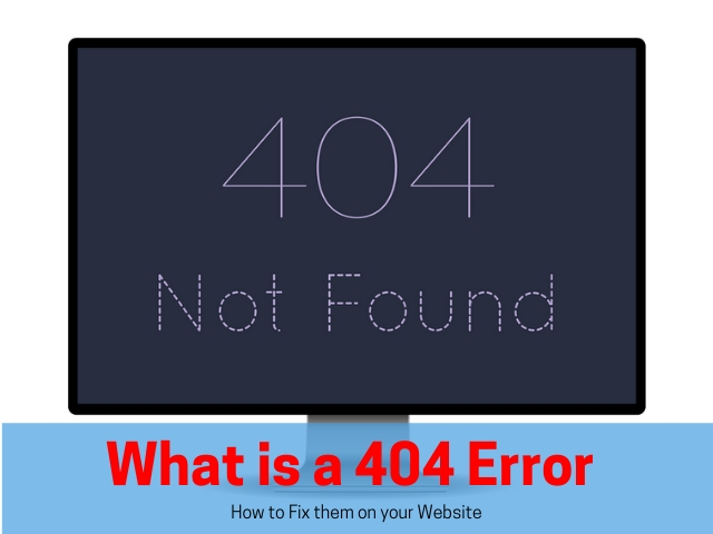 What is a 404 Error