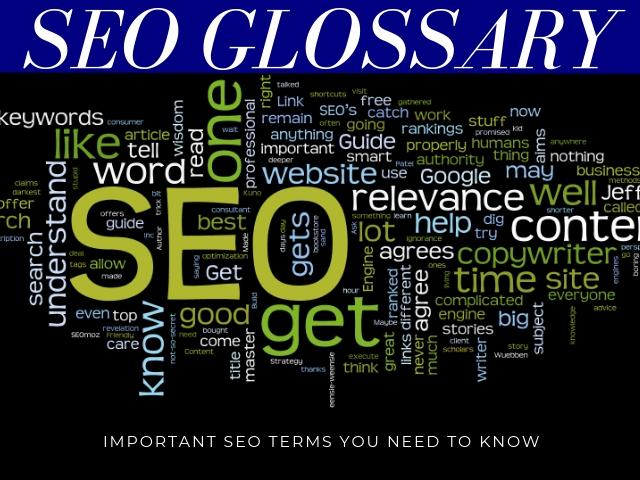 SEO Glossary Terms