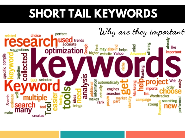 Short Tail Keywords