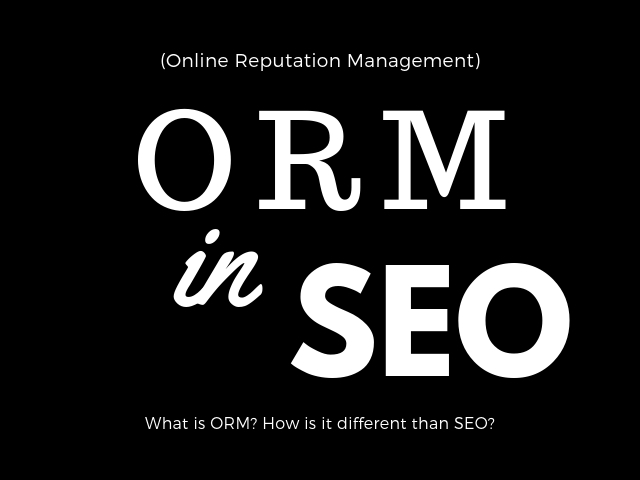 ORM in SEO