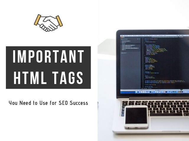 Important HTML Tags