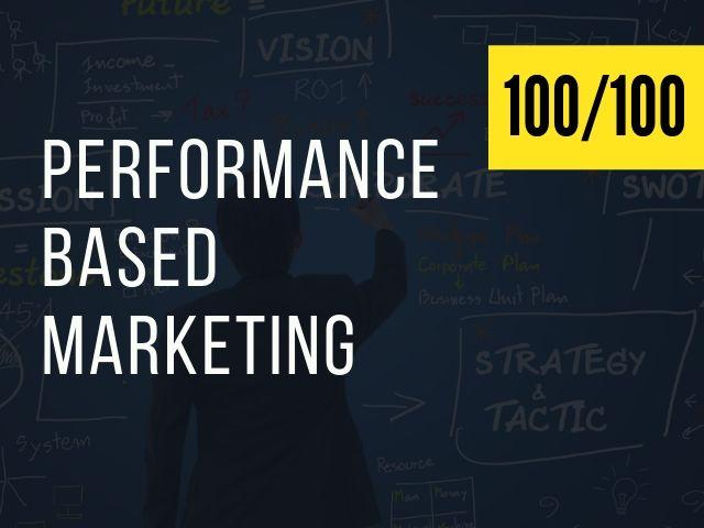Performance-Based Marketing