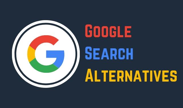Google Search Alternatives