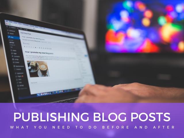 Publishing Blog Posts