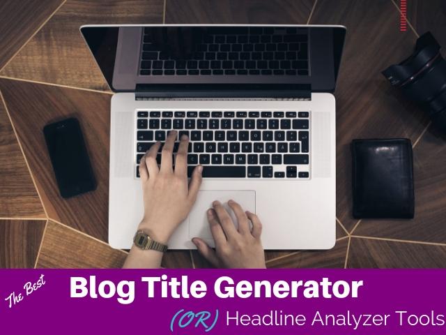 Blog Title Generator