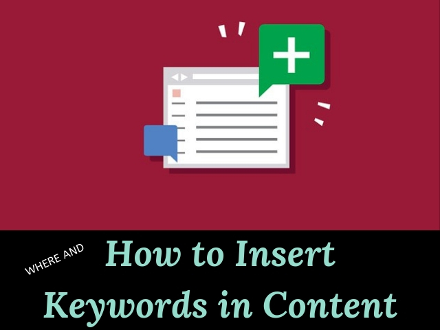 Insert Keywords