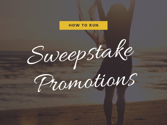 Sweepstake Promotions
