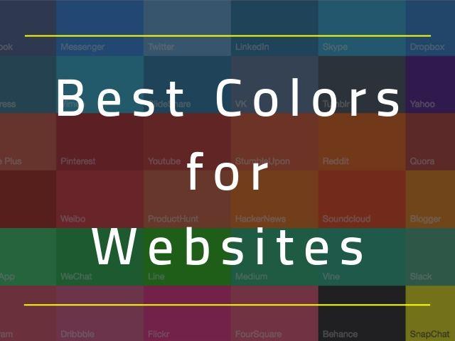 Best Colors for Websites