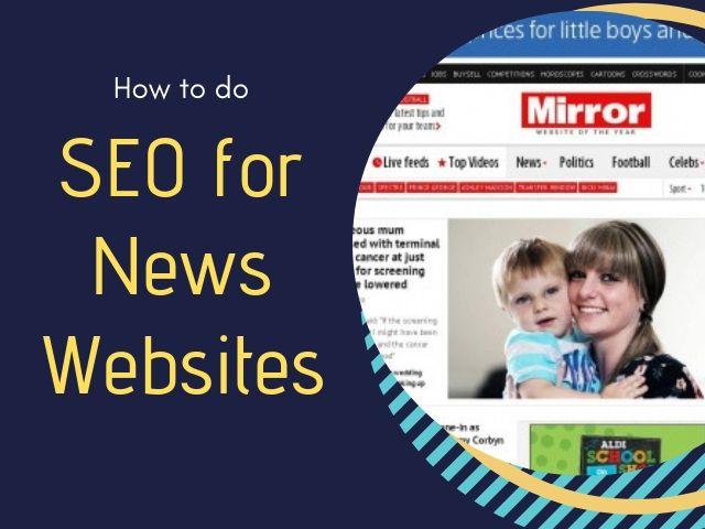 SEO for News Websites