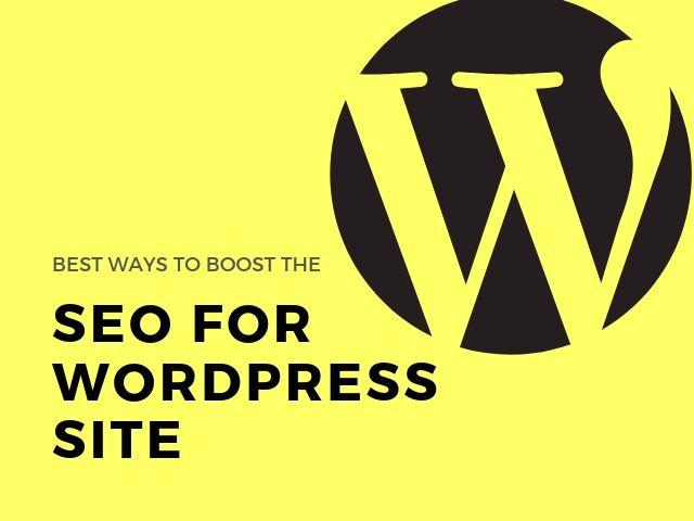 SEO for WordPress Site