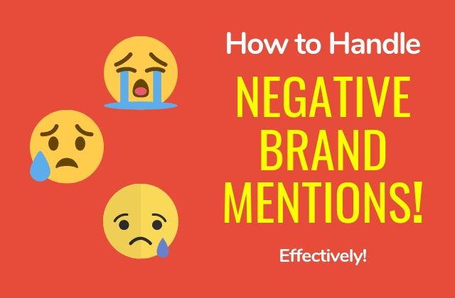 Negative Brand Mentions