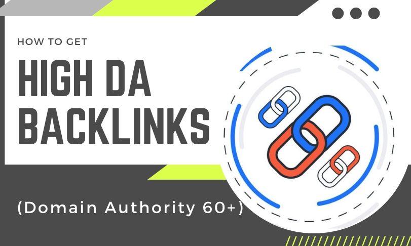 High DA Backlinks