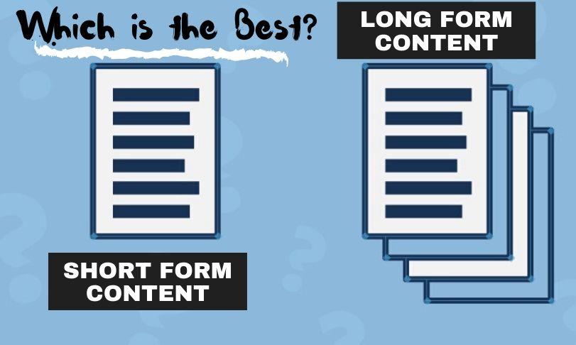 Short Form Content vs Long Form Content