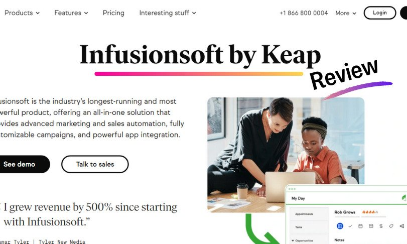 Infusionsoft by Keap Review